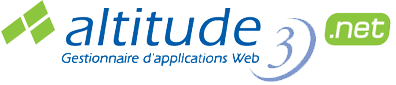 Altitude 3.net - Gestionnaire d'applications Web